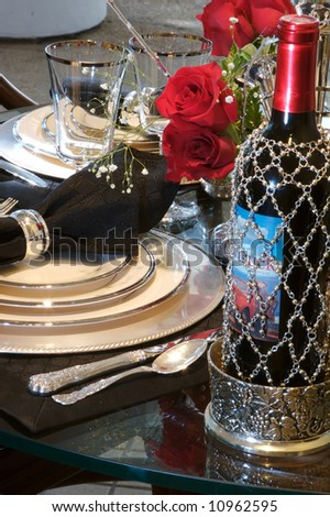 Delightful An Image Of A Formal Dining Room Place Setting