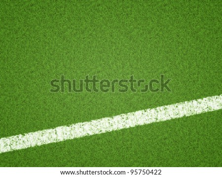 An image of a green grass soccer background