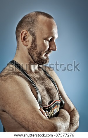 An image of a hairy man with a beard