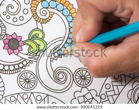 New Coloring Books For Adults : Coloring book stock photos royalty free images & vectors