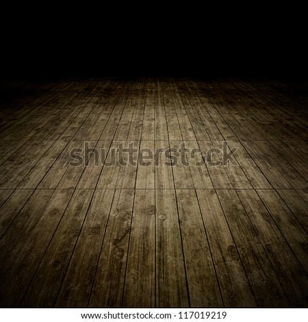 An image of a nice and dark wooden background - stock photo