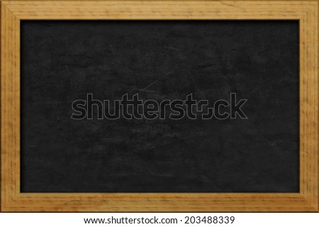 An image of a nice black chalkboard
