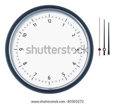 An image of a nice clock construction set - stock photo