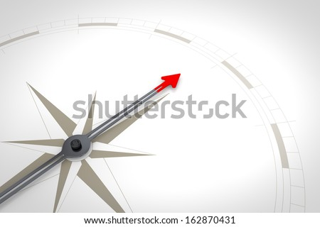 An image of a nice compass background - stock photo