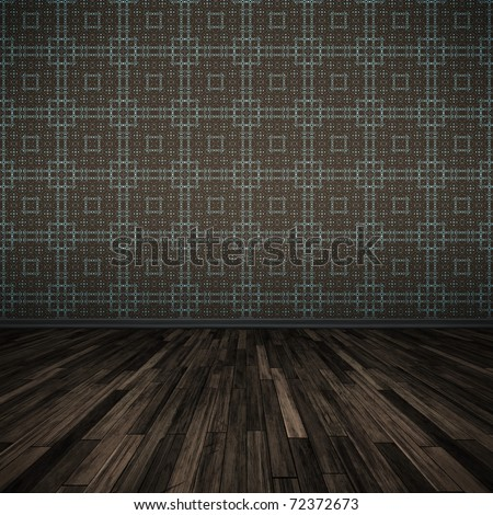 An image of a nice dark floor for your content - stock photo