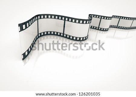 An image of a nice film strip background - stock photo