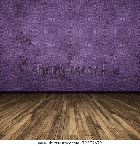 An image of a nice purple floor for your content - stock photo