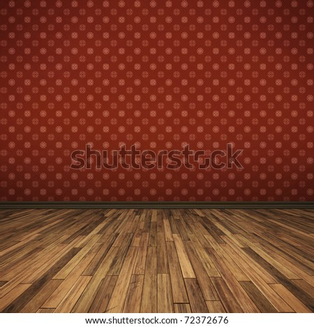 An image of a nice red floor for your content - stock photo