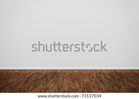 An image of a nice room with a wall for your content - stock photo