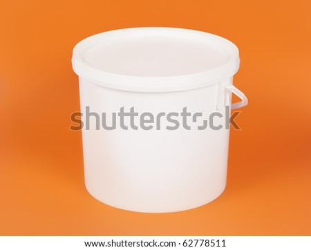 An image of a nice white bucket