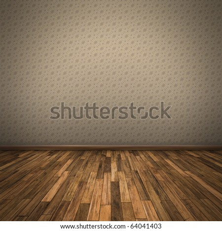 An image of a nice wooden floor background - stock photo