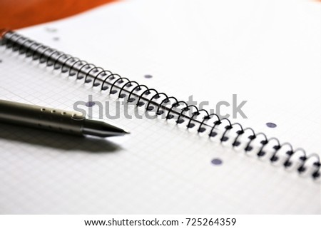 An image of a ring notebook binder