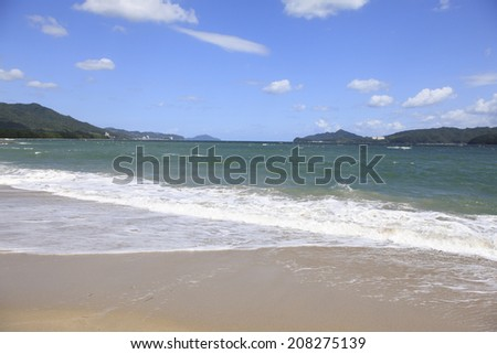 An Image of Amanohashidate Beach