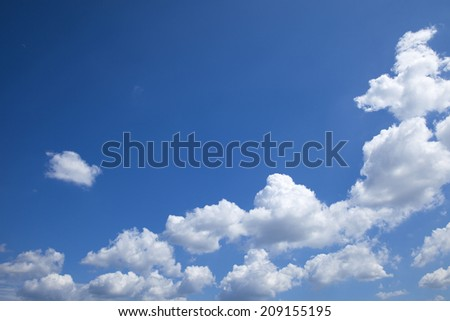 An Image of Blue Sky