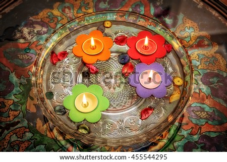 an image of candles - stock photo