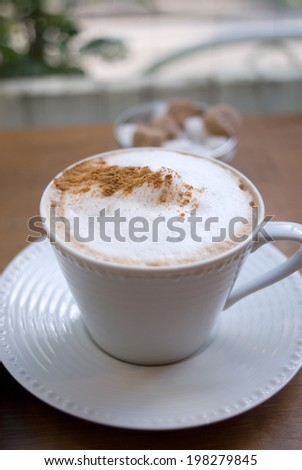An Image of Cappuccino