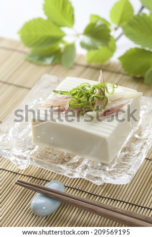 An Image of Cold Tofu