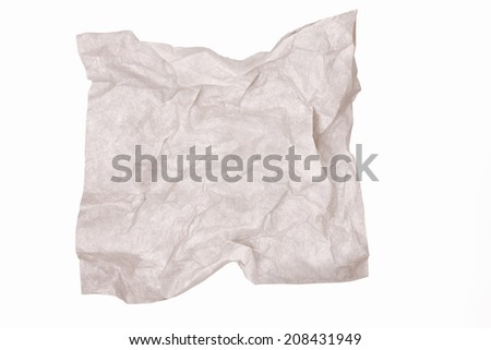 An Image of Crumpled Japanes Paper