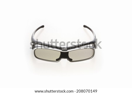 An Image of 3D Glasses