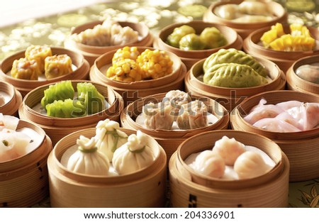 An Image of Dim Sum - stock photo