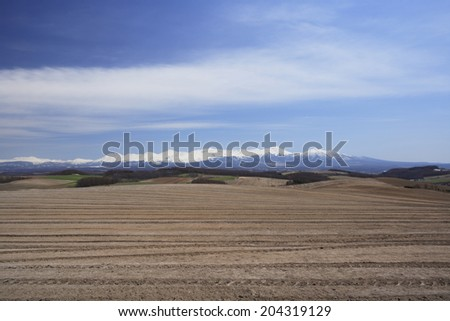An Image of Earth Of Spring - stock photo