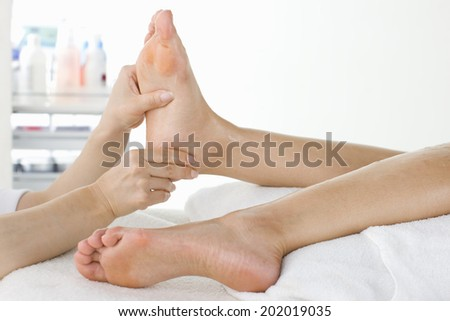 An Image of Foot Massage