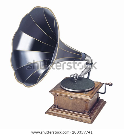 An Image of Gramophone