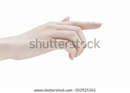 An Image of Hand