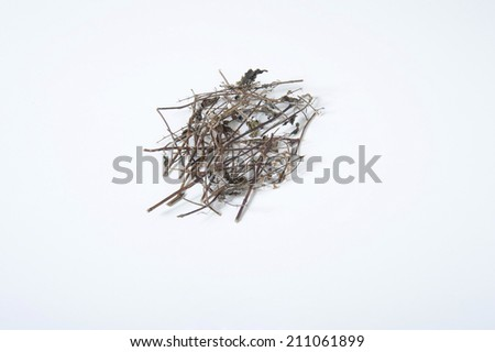 An Image of Herb Material