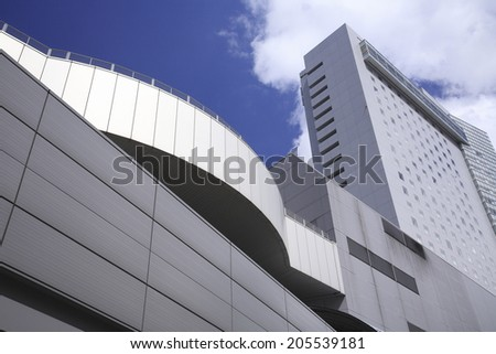 An Image of High-Rise Building