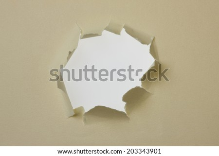 An Image of Hole