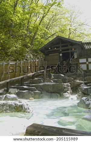 An Image of Hot Spring