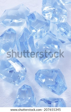 An Image of Ice Of Plastic