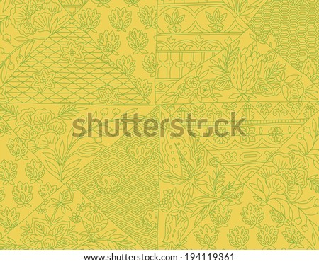 An image of Japanese style pattern