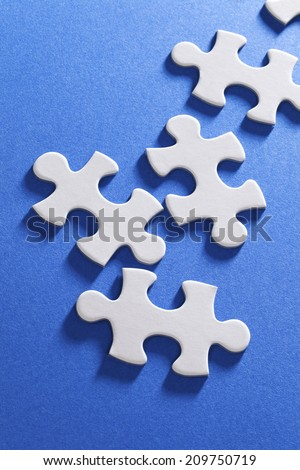 An Image of Jigsaw Puzzle