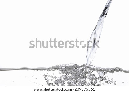 An Image of Pouring The Water - stock photo