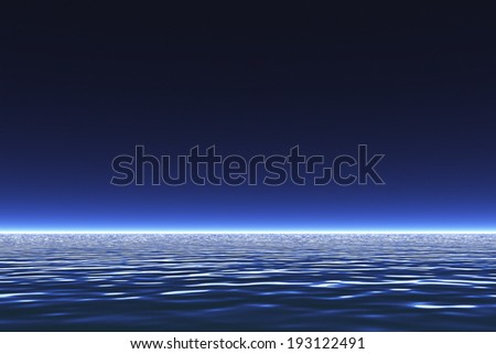 An image of Sea and sky