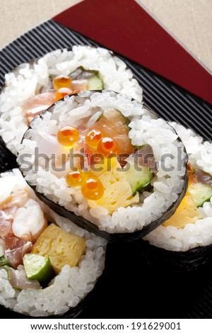 An image of Seafood Sushi