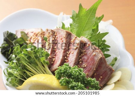 An Image of Seared Beef