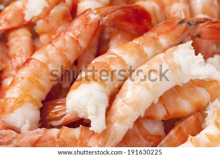 An image of Shrimp cooked sushi