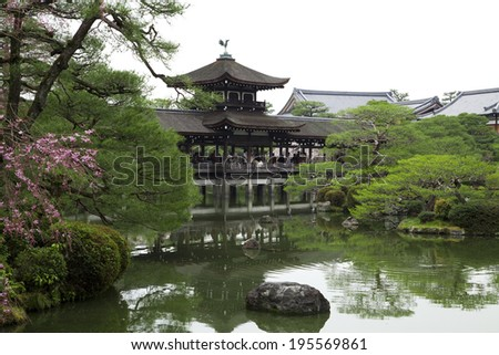 An image of Shrine in Japan - stock photo