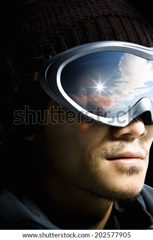 An Image of Snowboard - stock photo