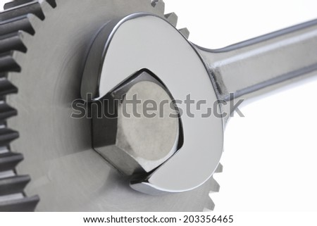 An Image of Spanner And Gear