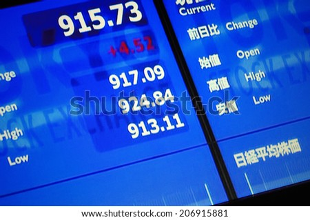 An Image of Stock Price