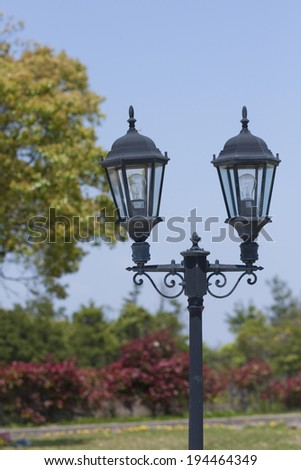 An image of Street lamp