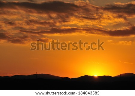 An image of Sunset