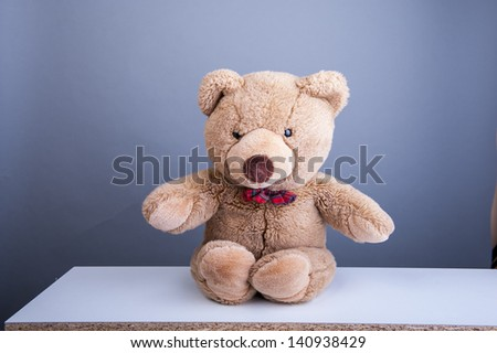 An image of teddy bear - stock photo