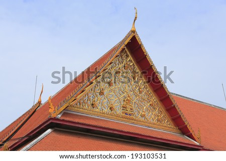 An image of Thailand traditional architecture