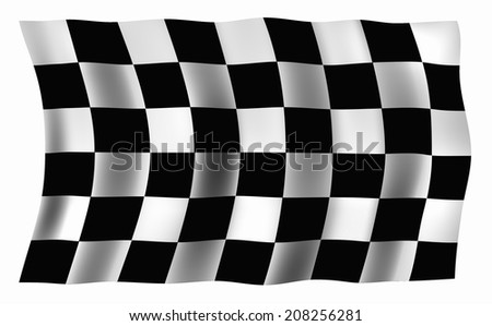 An Image of The Checkered Flag