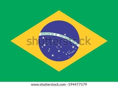An image of the national flag of Brazil